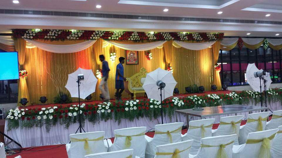 party hall stage designs