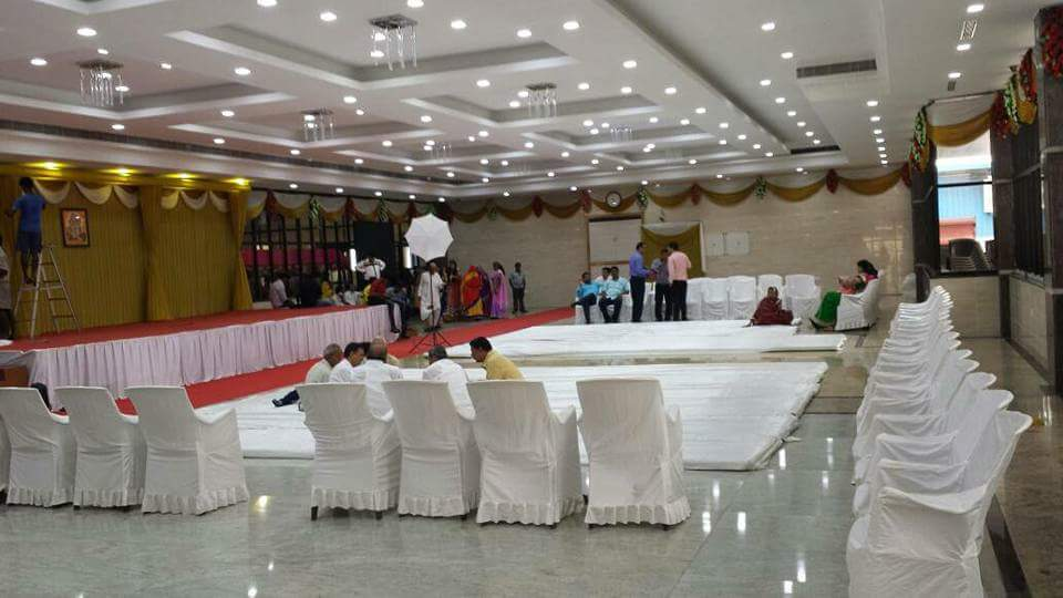 party halls decorations