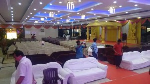 mini party halls rental