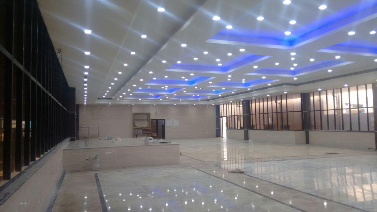 banquet halls corridors