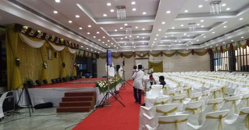 Mini A/C Halls at Chennai