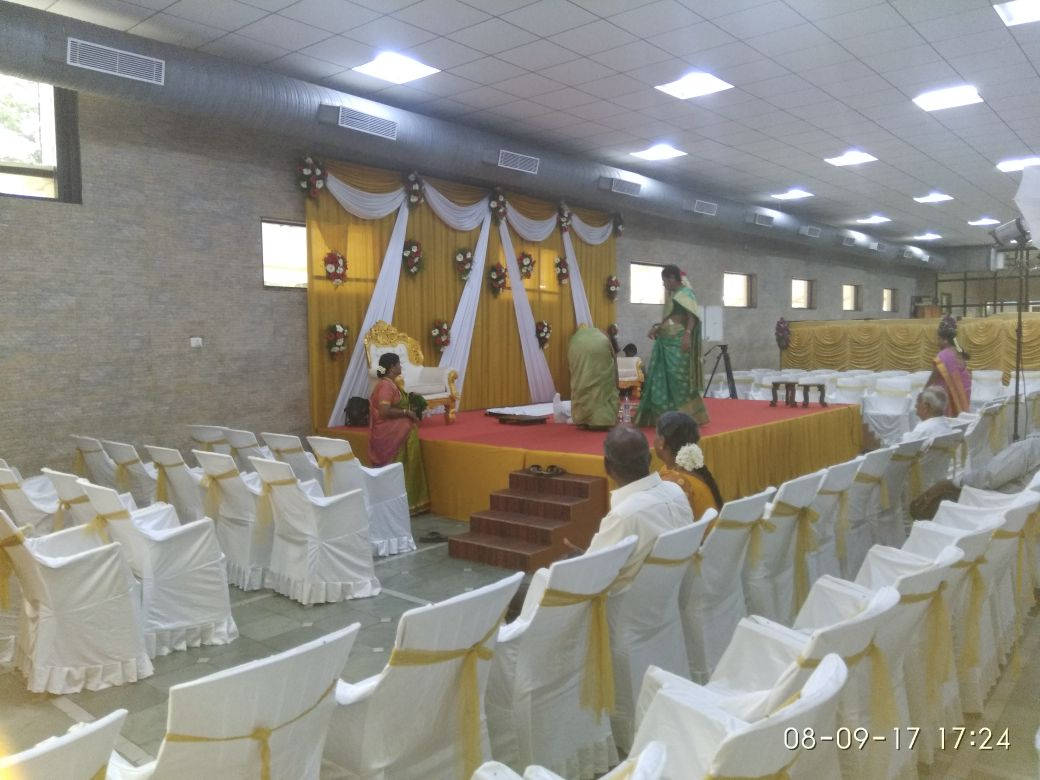 Party banquet hall with venue Customization